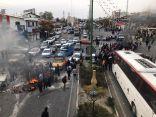 احتجاجات واسعة في ايران بعد رفع أسعار الوقود 3 أضعاف