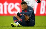 نيمار يتعرض لإصابة كبيرة في كأس فرنسا