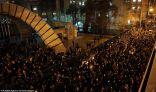 احتجاجات مناوئة للحكومة في طهران وهتافات ضد خامنئي
