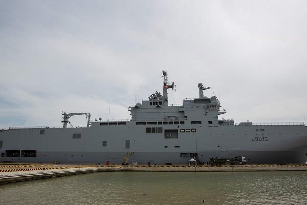 20190425093039194 - فرنسا تعلق على اعتراض الصين لأحد سفنها في تايوان