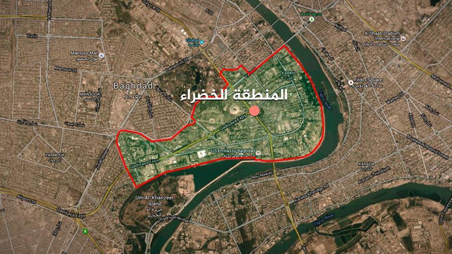 D68tprJWsAEgItZ - الجيش العراقي يعلن سقوط صاروخ كاتيوشا في المنطقة الخضراء