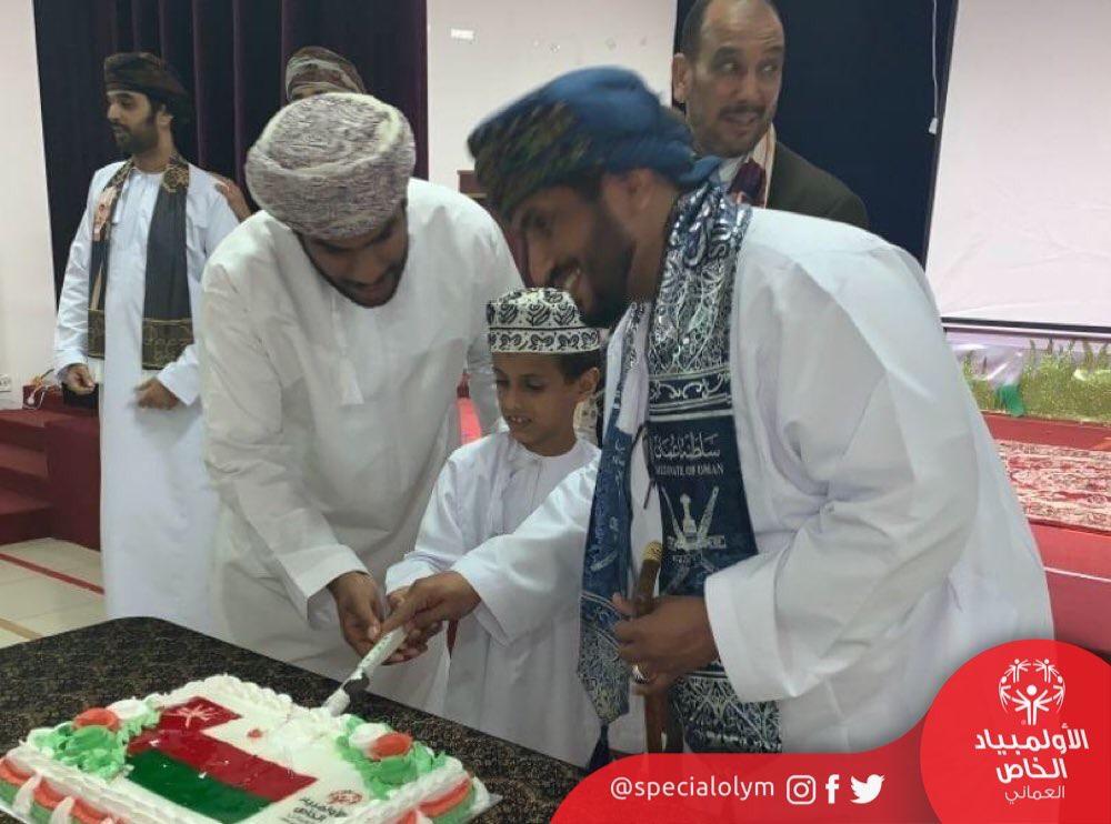 img 3718 - الأولمبياد الخاص العماني بظفار يحتفل بالعيد الوطني التاسع و الاربعين المجيد