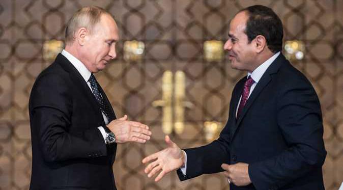 20191227133436684 - توافق مصري روسي على وضع حد للتدخلات الخارجية في ليبيا