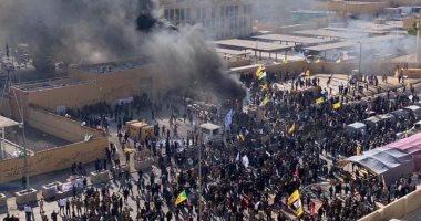 201912311222442244 - امريكا ترسل قوات عسكرية لحماية السفارة الأمريكية في بغداد