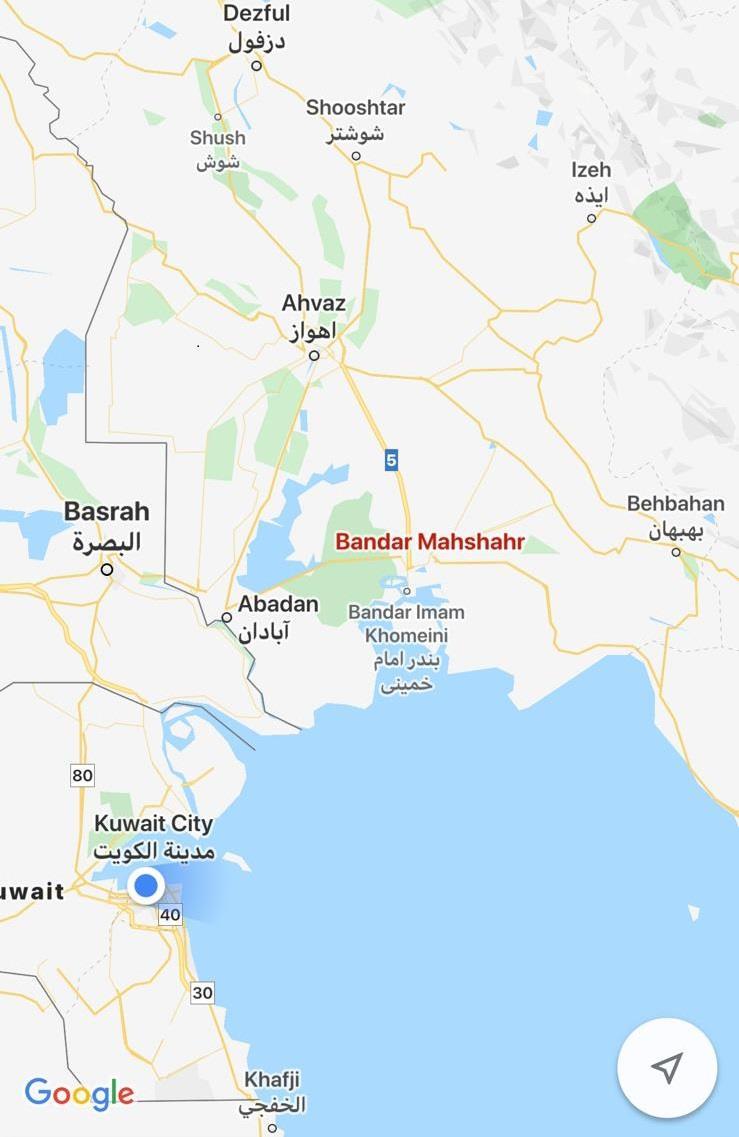 20200119163429772 - الحرس الثوري الإيراني يحتجز 3 قوارب كويتية على متنها 11 صياداً