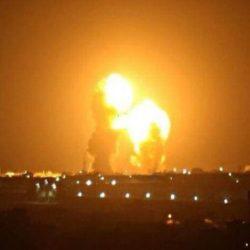هجوم صاروخي على قاعدة عين الأسد التي تضم قوات أميركية في الأنبار