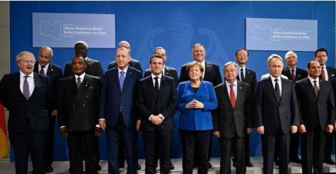 EOqONxNX0AYZdmn - البيان الختامي لقمة برلين يدعو إلى «وقف دائم لإطلاق النار» في ليبيا