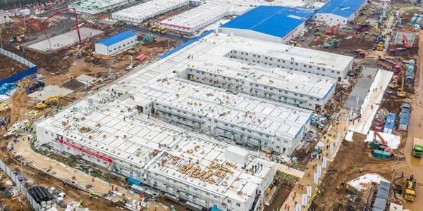 img 9381 - الصين تنهي تشييد مستشفى لمرضى فيروس كورونا خلال 10 أيام
