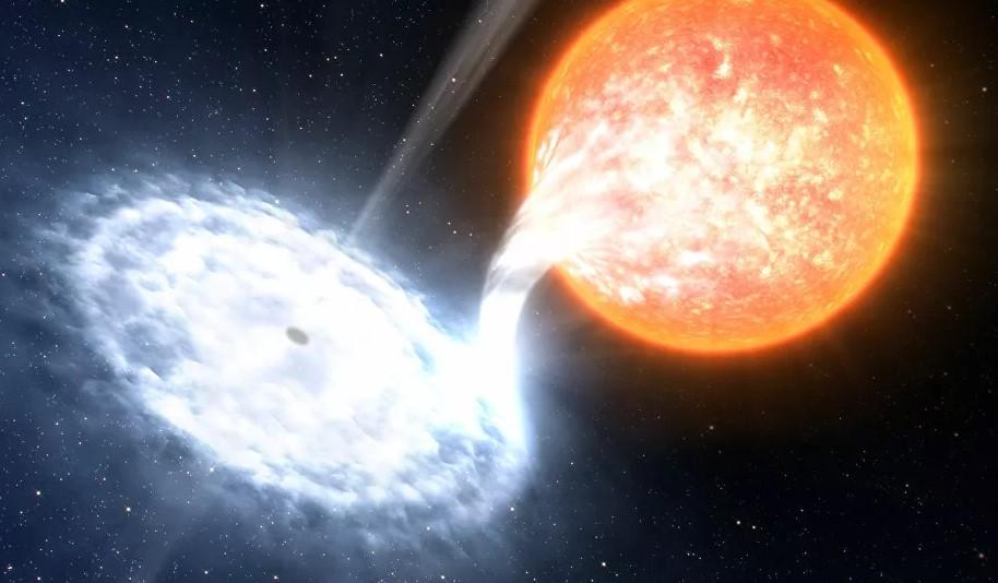 تصادم بين مجرتين ربما سرع تكون نظامنا الشمسي - تصادم بين مجرتين ربما سرع تكون نظامنا الشمسي