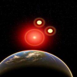 تصادم بين مجرتين ربما سرع تكون نظامنا الشمسي