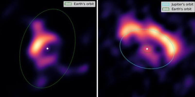 """كرؤية شعرة من مسافة 10 كم صور فريدة لأقراص تشكيل كوكب عن بعد - """"كرؤية شعرة من مسافة 10 كم"""": صور فريدة لأقراص تشكيل كوكب عن بعد!"""