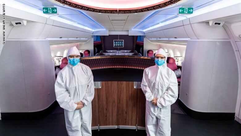 كيف ستبدو رحلات السفر جواً بعد وباء كورونا؟ - كيف ستبدو رحلات السفر جواً بعد وباء كورونا؟