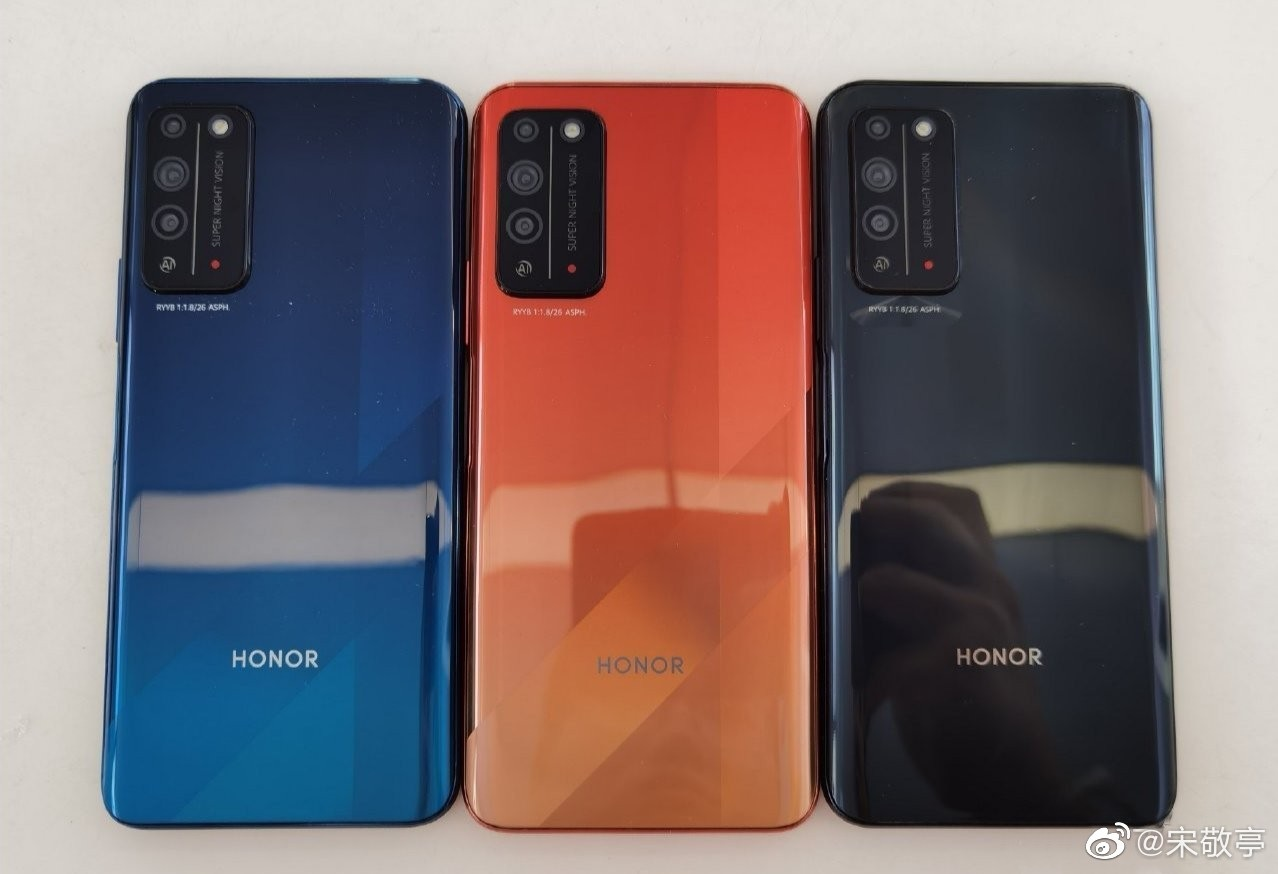 Honor X10 5G 1 - تسريب صور واقعية جديدة للهاتف Honor X10 5G، وإليكم مواصفاته التقنية الكاملة
