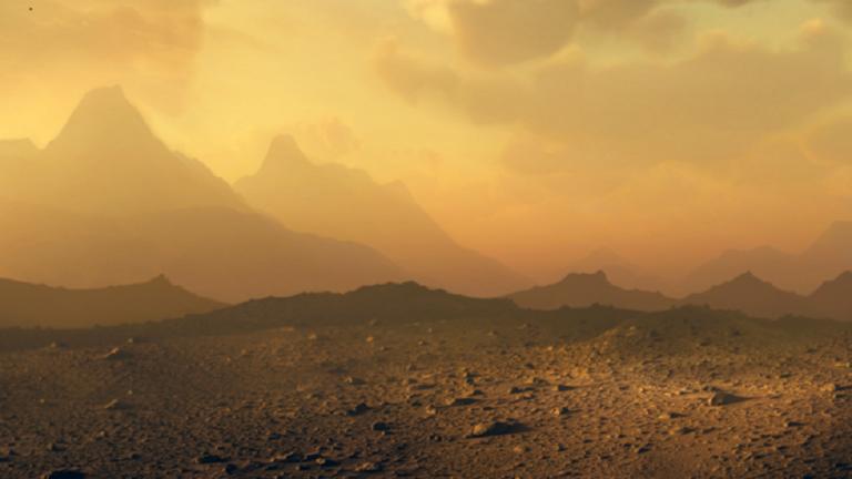 5f9ab1934236047673644fa4 - ناسا تنشر صورة مرعبة لثوران بركان على كوكب الزهرة!