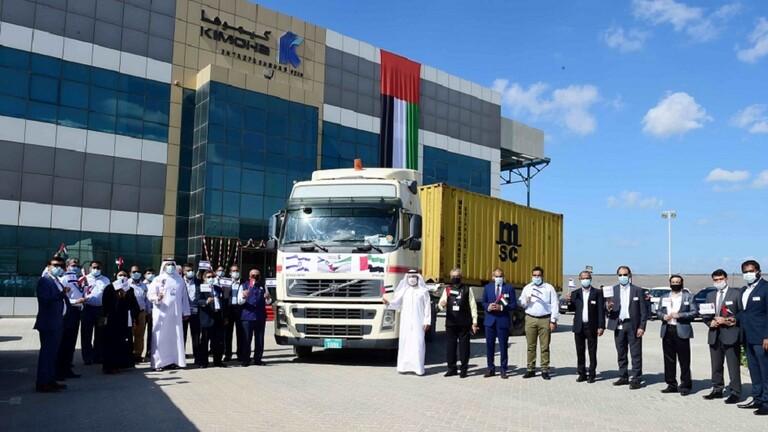 5fbd411f42360454a9632612 - ميناء جبل علي الإماراتي يستقبل أول حاوية بضائع من إسرائيل