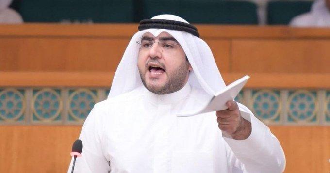 ٢٠٢١٠١١٢ ١٣٣٦٠٤ - د.عبدالكريم الكندري يسأل وزير الخارجية عن سبب تأخير إقرار التأمين الصحي لموظفي الخارجية.     #العبدلي_نيوز