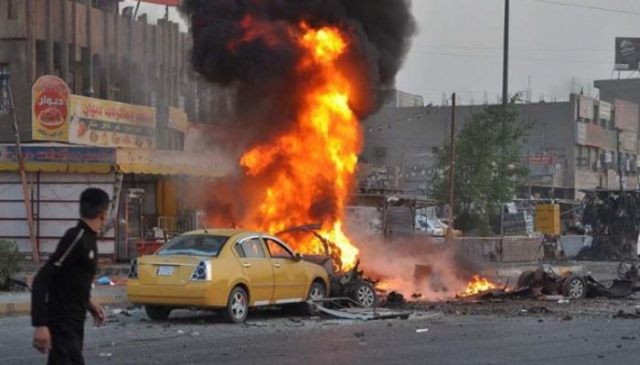 ٢٠٢١٠١٢١ ١٠٢٧٠٦ - مقتل ثلاثة وإصابة 16 بهجوم انتحاري في سوق بوسط بغداد.    #العبدلي_نيوز