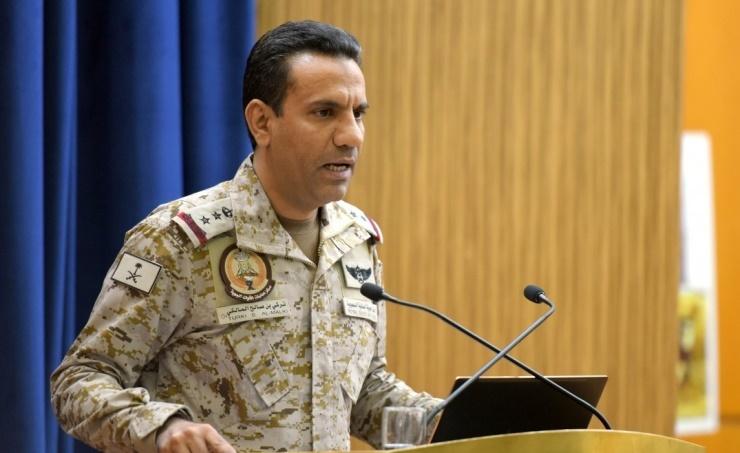 """٢٠٢١٠١٢٢ ١٣١٤١٠ - تحالف دعم الشرعية في اليمن يعلن تدمير """"مسيرتين"""" أطلقهما الحوثيون تجاه المملكة وزورق مفخخ جنوب البحر الأحمر.     #العبدلي_نيوز"""