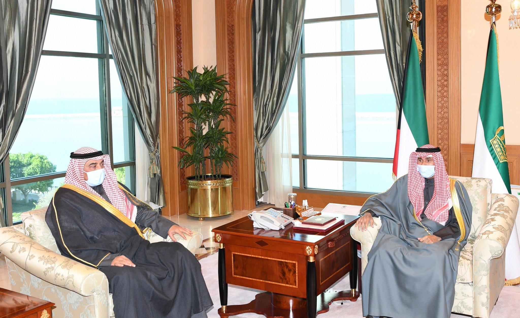 صاحب السمو يصدر أمراً أميرياً بتعيين سمو الشيخ صباح الخالد رئيساً للوزراء. #العبدلي