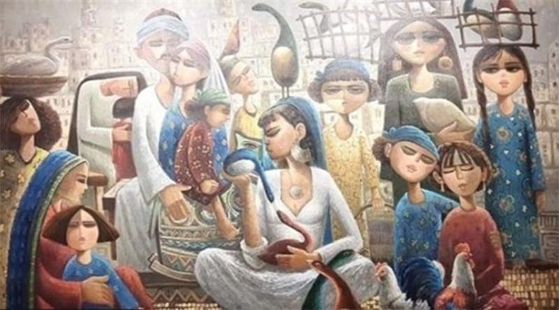 """٢٠٢١٠٢٠٥ ١٠٤٧١٥ - """"كا - با""""... معرض تشكيلي لأعمال فنية مستوحاة من معالم مصر القديمة في الأقصر.  #العبدلي_نيوز"""