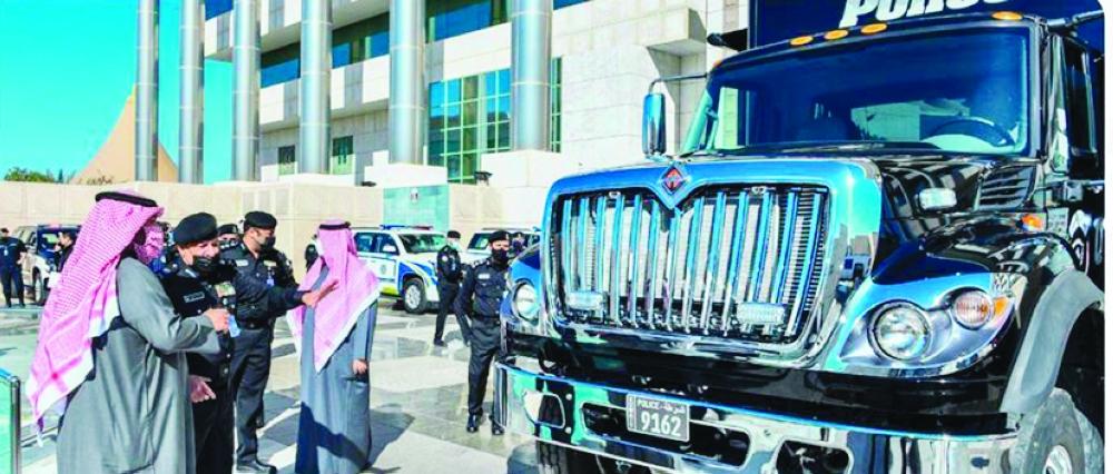 ٢٠٢١٠٢١٣ ١٣٢١٠٦ - #العلي: دراسة مشروع تأمين لمنتسبي «الداخلية» وتشريع يكفل حمايتهم وحفظ حقوقهم.    #العبدلي_نيوز