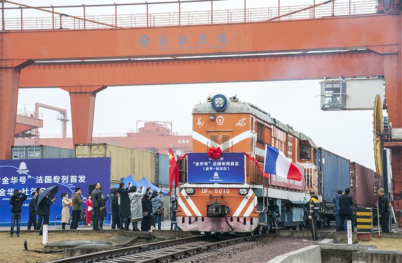 ٢٠٢١٠٢٢٣ ١٠٢٠٢٢ 1 - مدينة صينية تطلق خط قطار شحن جديد بين الصين وأوروبا.   #العبدلي_نيوز