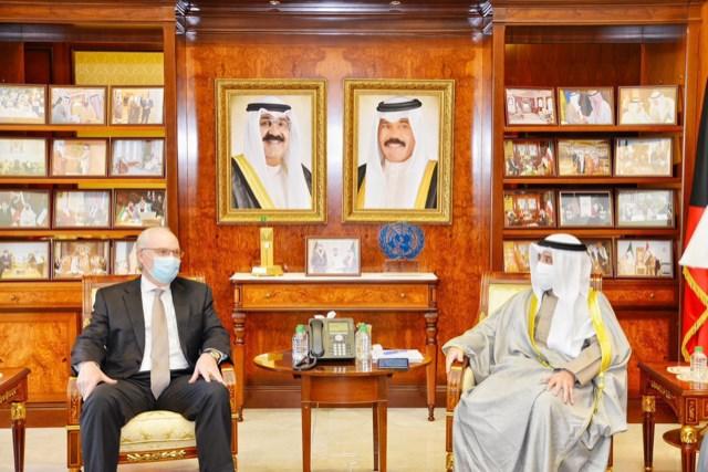 ٢٠٢١٠٣٠٢ ١١٣١١٧ - وزير الخارجية يلتقي المبعوث الأميركي الخاص إلى اليمن.   #العبدلي_نيوز