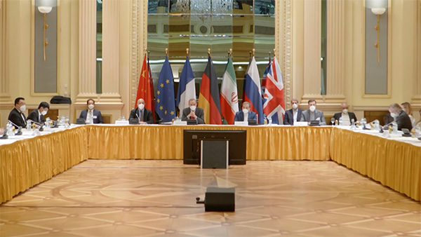 """٢٠٢١٠٤٠٧ ١٣٢٠٢٧ - نقاشات أولية """"مثمرة"""" في فيينا لإنقاذ الاتفاق حول النووي الإيراني.   #العبدلي_نيوز"""