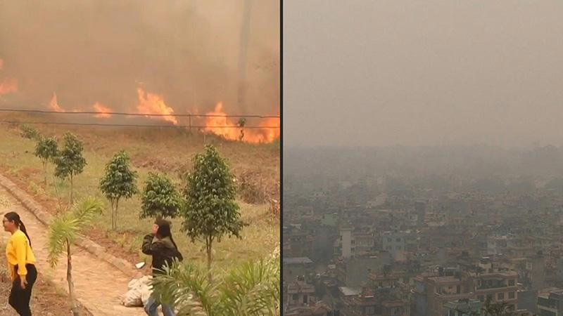 ٢٠٢١٠٤٠٧ ١٦٤٢٢٥ - النيبال تتعرض لأسوأ موسم حرائق منذ قرابة عقد من الزمن.  #العبدلي_نيوز