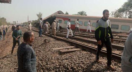 ٢٠٢١٠٤١٨ ١٥٣٨٤٤ - #مصر.. خروج قطار عن القضبان في طوخ.. وسقوط أكثر من 100 إصابة.  #العبدلي_نيوز