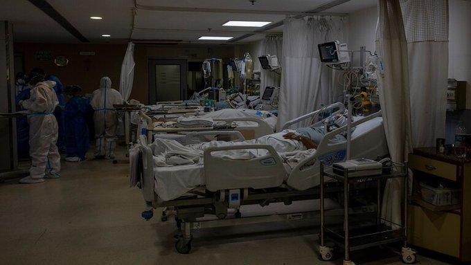 متحور كوفيد-19 يغرق #الهند في أزمة صحية خانقة #العبدلي_نيوز