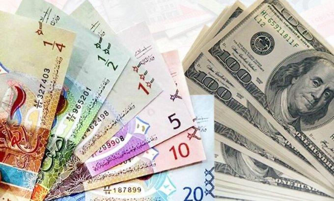 55555 - استقرار الدولار الأمريكي أمام #الدينار.. واليورو يرتفع             #العبدلي_نيوز