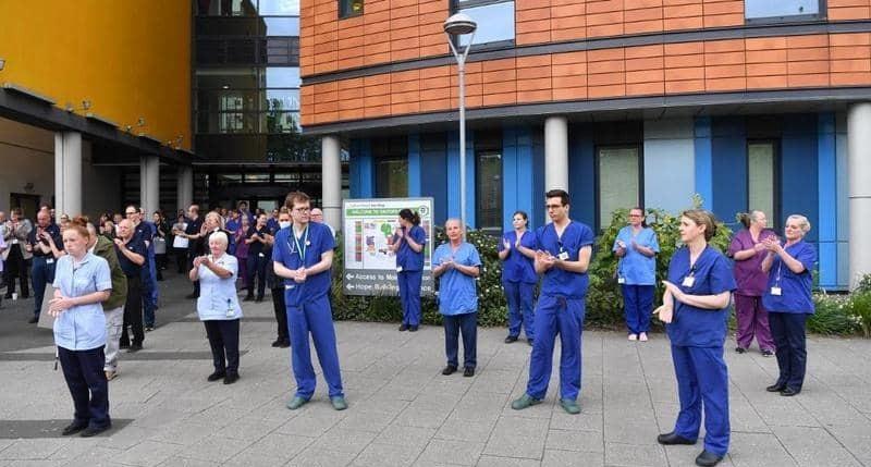 ٢٠٢١٠٥٠٣ ١٣٥٧١١ - #بريطانيا.. آلاف الأطباء يخططون لترك العمل بسبب ضغط الوباء.   #العبدلي_نيوز