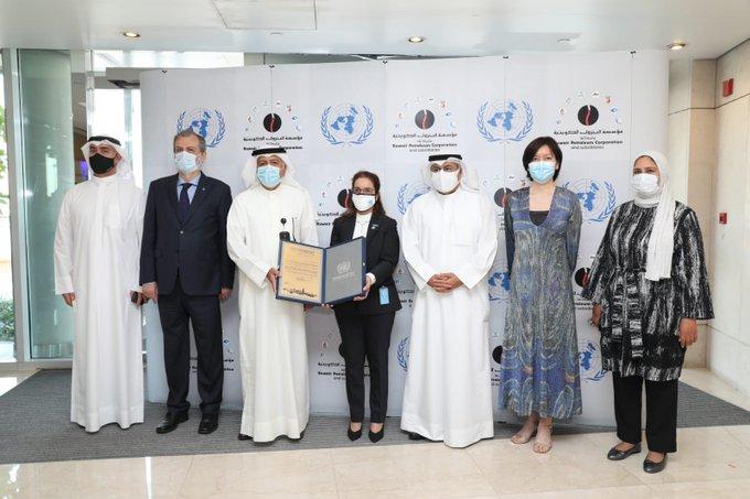 2222222222222 1 - #الأمم_المتحدة تمنح جائزة العمل المناخي العالمي لرئيس مؤسسة البترول الكويتية                  #العبدلي_نيوز