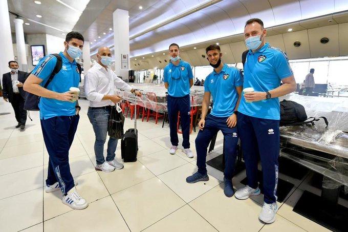 E1rkDaXXsAMES5B - وفد منتخب الكويت لكرة القدم يتوجه إلى دبي لإقامة معسكر تدريبي استعداداً للتصفيات المشتركة.            #العبدلي_نيوز