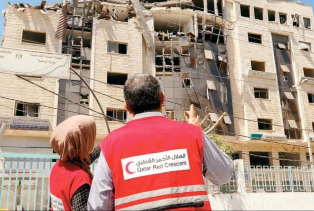 EyV2Padh - الخارجية تدين إستهداف الاحتلال لمقر الهلال الأحمر القطري في غزة.        #العبدلي_نيوز