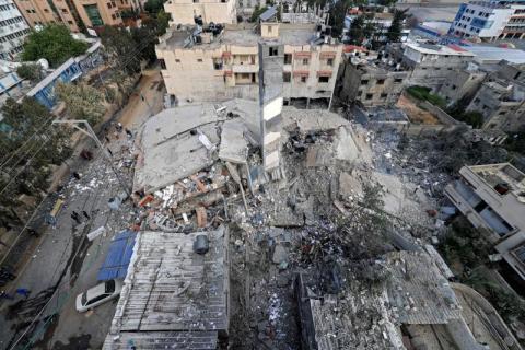 cB2vABDf - الأمم المتحدة: الغارات الإسرائيلية شردت أكثر من 52 ألف فلسطيني في غزة.            #العبدلي_نيوز