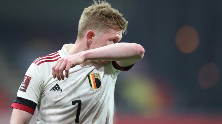 بروين - #دي_بروين مهدد بالغياب عن مباراة #بلجيكا ضد #روسيا                           #العبدلي_نيوز