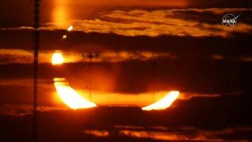 كسوف الشمس - كسوف حلقي للشمس على مرأى النصف الشمالي للأرض                          #العبدلي_نيوز