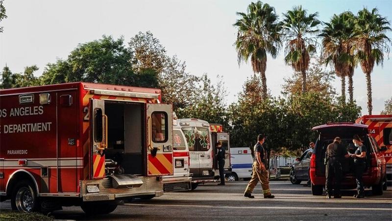 ٢٠٢١٠٦٠٢ ١٧٤٠٢٤ - رجل إطفاء يقتل زميلا له بالرصاص ويصيب آخر في مقر عملهم بلوس انجليس.  #العبدلي_نيوز