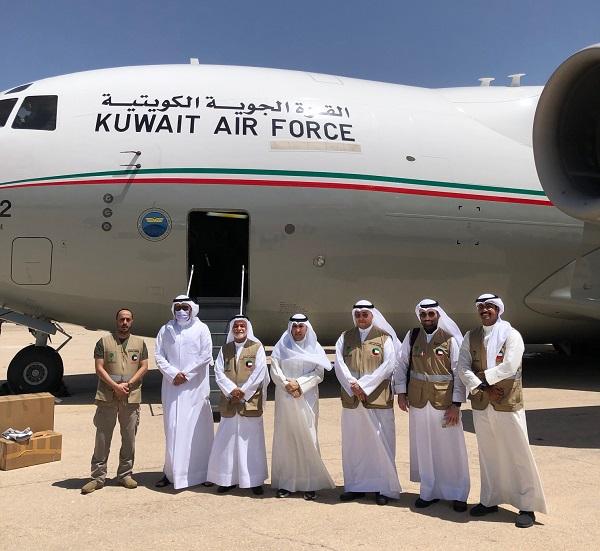 ٢٠٢١٠٦٠٩ ١٦٥٦٣٩ - طائرة عسكرية كويتية تصل إلى الأردن محملة بمساعدات للشعب الفلسطيني.     #العبدلي_نيوز