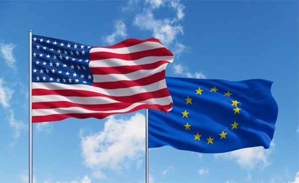 ٢٠٢١٠٦١٠ ٠٩٠٠١٧ - أمريكا والاتحاد الأوروبي يتعهدان بإنهاء النزاعات التجارية بينهما.  #العبدلي_نيوز