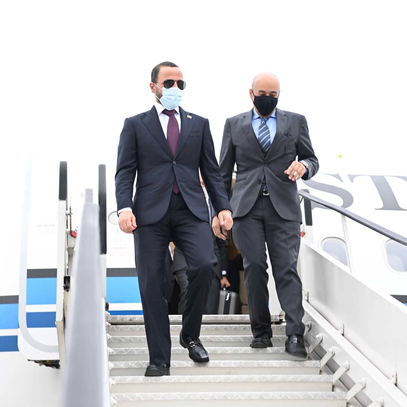٢٠٢١٠٦٢٣ ١٩٣٦٣٢ - #الغانم يصل إلى بروكسل للقاء رئيسي البرلمانين الأوروبي والبلجيكي.    #العبدلي_نيوز