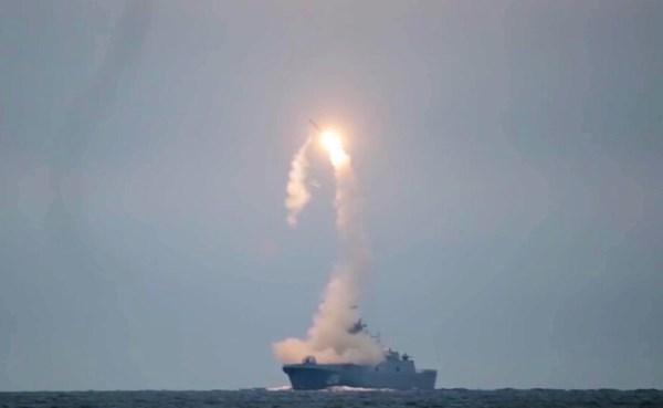 """٢٠٢١٠٧٢١ ١٢٤٦٥٦ - #الدفاع_الروسية: نجاح اختبار صاروخ """" تسيركون"""" الفرط صوتي.   #العبدلي_نيوز"""