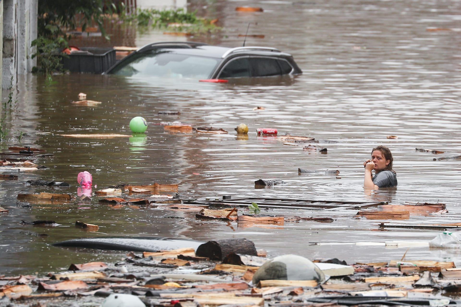 ٢٠٢١٠٧٢٥ ٠٩٣٢٠٤ - فيضانات جديدة تضرب #بلجيكا وسط طقس عاصف.  #العبدلي_نيوز