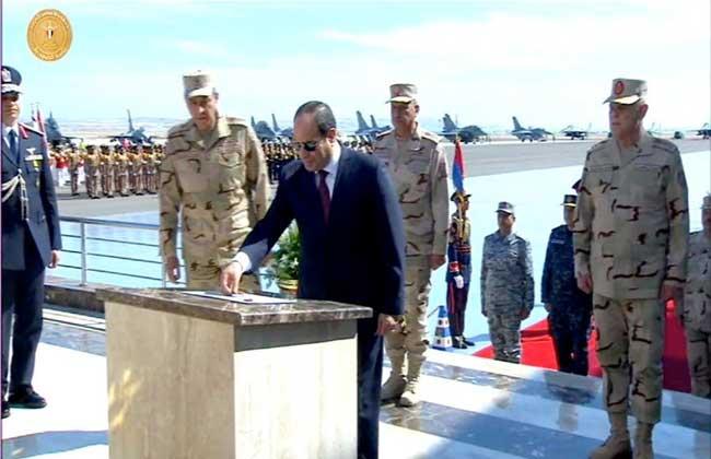 6666666 - #السيسي يفتتح أحدث #قاعدة_عسكرية مصرية على #البحر_المتوسط                             #العبدلي_نيوز