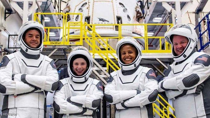 رواد الفضاء - لأول مرة.. 4 سياح في رحلة فضائية من دون رواد                #العبدلي_نيوز