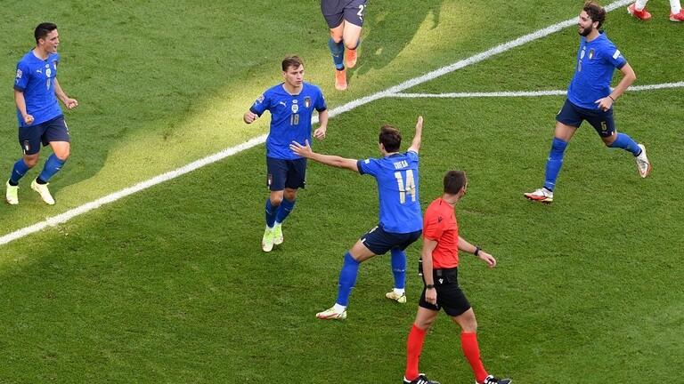 20211010 173214 - #إيطاليا تفوز على #بلجيكا وتحرز المركز الثالث لبطولة دوري الأمم الأوروبية #العبدلي_نيوز