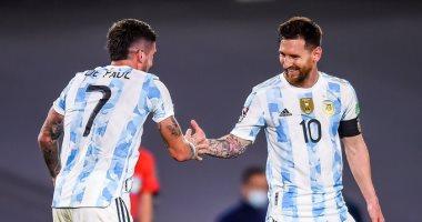 20211011030943943 - الأرجنتين تكتسح أوروجواي بثلاثية نظيفة في تصفيات كأس العالم