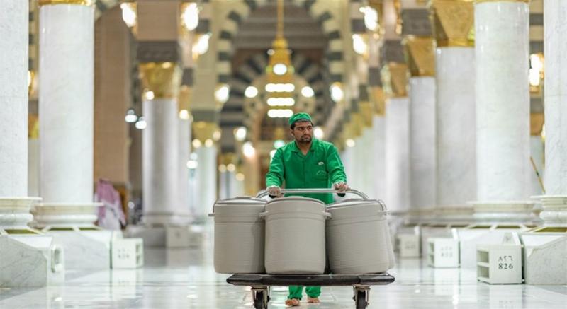 20211011 193723 - السعودية : إعادة تشغيل 155 مشربية و20 ألف حافظة ماء زمزم بعد توقفها بسبب كورونا .        #العبدلي_نيوز